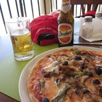 Pizza & beer special