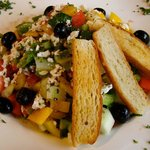 Greek Salad ($7.95)