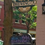 Market Street Brewing Company sign