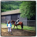 my 10 year old got riding lessons - great instructors and beautiful horses
