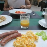 Breakfast was yummy!