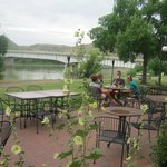 Riverfront Patio Dining