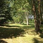 five acres of gorgeous scenery