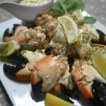 Garlic, Dill Stone Crab Claws