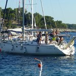 One of many Sailing Yachts