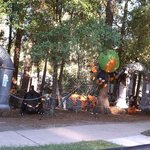 Campgrounds Halloween Decorations