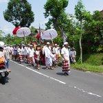 cérémonie au village