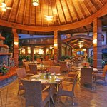 Tres Cascadas Restaurant's Chimney area