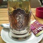 délicieux thé vert