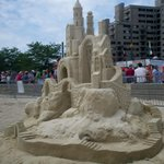 If you're there during the sand sculpture competition, go!
