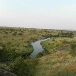 Ntiak Ntiak River (Hence the wildlife around)
