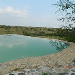 Swimming Pool- Watch Hippos from drop-off sipping wine