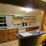 Kitchen in need of minor repairs