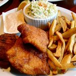 Spicy Cajun Fish and Chips ($9.95)