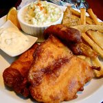 Regular Fish and Chips ($9.95)
