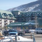 Foto da fachada do hotel