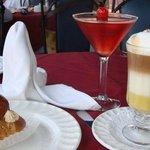 Postres y bebidas, altamente recomendables
