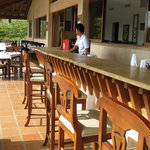 The restaurant, pool and bar are open throughout the day and night