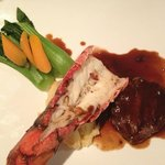 Tournedos of Beef with Lobster Tail