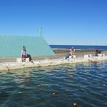 Olympic pool, Newcastle Ocean Baths (block 3 had been washed away during recent heavy