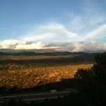 View from the Santa fe Opera