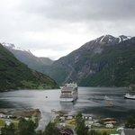 vista do Geirangerfjord