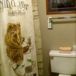 clean and presentable bathrooms