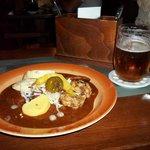 Cerveja e Goulash. Combinação nota 1000