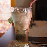Cold green tea?
