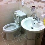Really clean bathroom