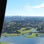 Our views on the 20 minutes helicopter flight