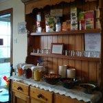 La stanza per la colazione