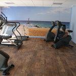 Salle de Fitness hôtel Kyriad