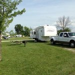 RV sites are very spacious.