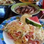 Crabby Omelette and Mediterranean Omelettes