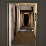 Zugang zur Turmsuite - renovationsbedürftig