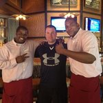 Visit the best bartenders, Valentino and Travis, at Virgil's!  They are famous!