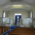 St Matthew's Glass Church interior