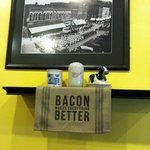 for the bacon lover's at Bev's Cafe