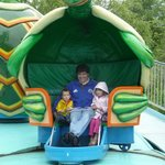 Twisty turtles - spinning ride will make even adults dizzy