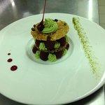 croustillant pistache framboise...