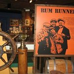 Part of the Rumrunner Exhibit - Fisheries Museum of the Atlantic-Lunenburg