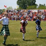 The Highland Fling at the Opening Ceremonies