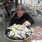En natuurlijk : de oesters !