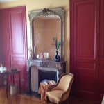 Lovely mirror and wardrobes
