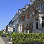 Hotel Eingang an der Eilenau 36-37