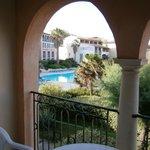 Veduta della piscina dalla terrazza