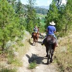 Kettle Valley Trail Ride -moseyin' down the trail