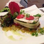 Lasagnes d'anchois (entrée)