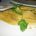 sweet corn tamal, DELICIOUS!